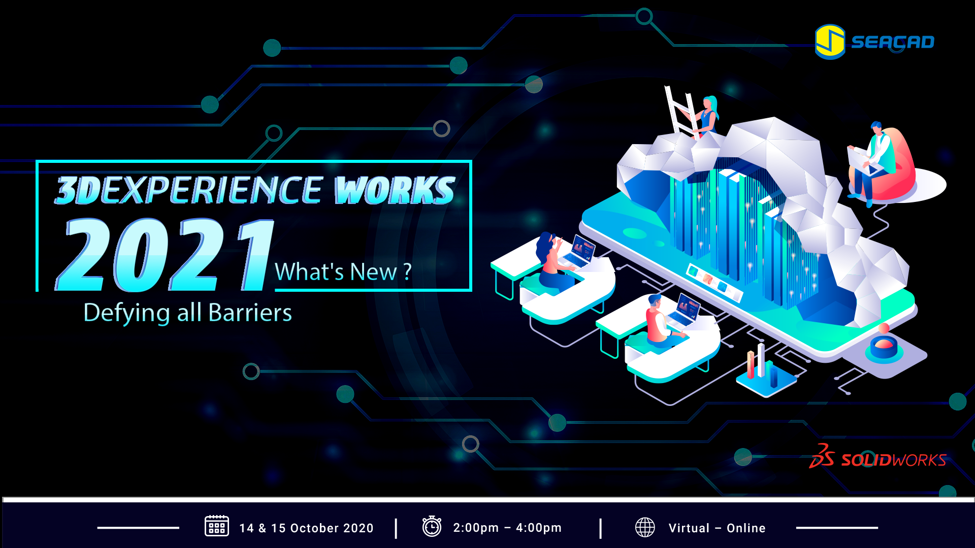 3DEXPERIENCE Works 2021 Event